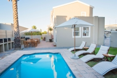 Pool with communal braai facilities