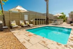 Pool with communal braai facilities